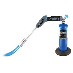 MR. TORCH 18″ Propane Grill Torch Charcoal Starter,Free Fuel Gas Cylinder Base! Trigger St ...