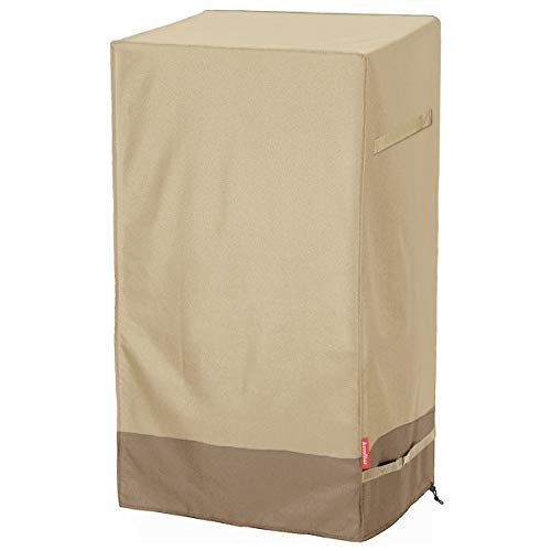600D Outdoor Electric Smoker Cover – Waterproof Square Smoker Grill Covers, UV and Fade Re ...