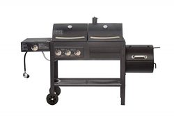 Smoke Hollow SH19033319 DG 850C Dual Propane and Charcoal Grill, Black