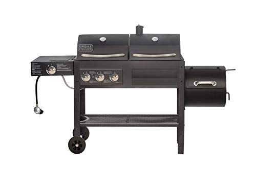 Smoke Hollow SH19033319 DG 850C Dual Propane and Charcoal Grill, Black