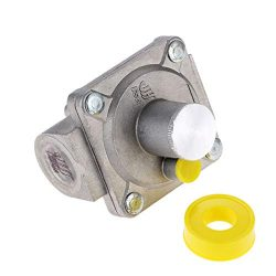 "Aupoko 1/2"" Gas Regulator, 1/2″-14NPT Natural Gas Grill Regulator, Inlet Pressure:1/ ..."