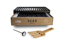 Fire & Flavor HERO Grill Portable Charcoal Grill
