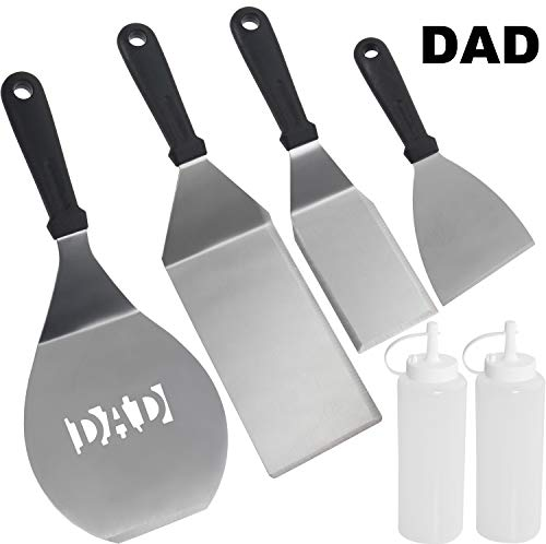 ROMANTICIST 6pc Dad Grill Griddle Accessories Set – Perfect Great BBQ Gift for Men Dad on  ...