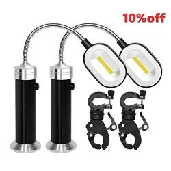 PROMOTOR LED BBQ Grill Lights 360 Degree Rotation Super Bright Barbecue Light with Magnetic Base ...