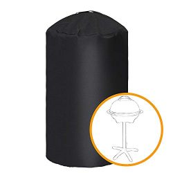 i COVER Round Grill Cover-19.5″(Dia) 32″(Tall) Water Proof Heavy Duty Outdoor Canvas ...