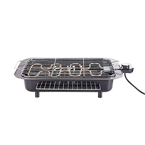 Double Layer Electric Indoor Grill & Searing Grill with Removable Nonstick Plates ,Electric  ...