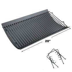 Uniflasy 20 Inches Ash Pan/Drip Pan for Chargriller 5050, 5072, 5650, 2123 Charcoal Grills, Char ...