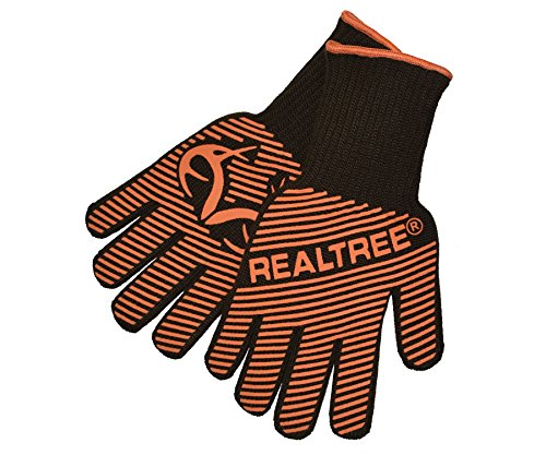 Realtree Grill Products 100532019 Heat Resistant Grilling Gloves, One Size Fits All All, Realtre ...