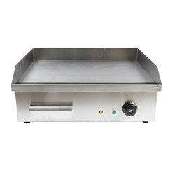 Teppanyaki Frying Machine, Electric Countertop Griddle Cooktop Versatility Bbq Teppanyaki Scoop  ...