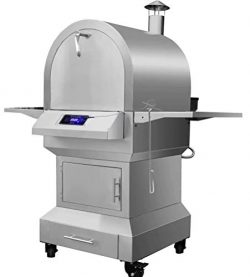 Stainless Steel Wood Pellet Grill, Smoker, Pizza Oven, Outdoor Cooking Centre (OCC) – Digi ...
