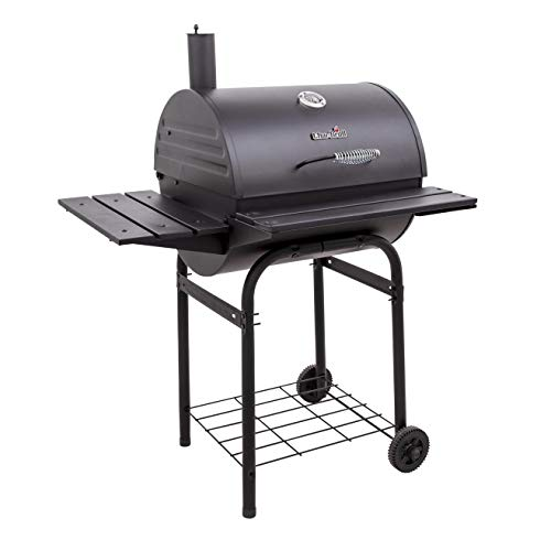 Char-Broil 15302030-50 American Gourmet 625 Charcoal Barrel Grill, Black