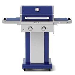 KitchenAid 720-0891G Full-Size Propane Gas Grill, Blue