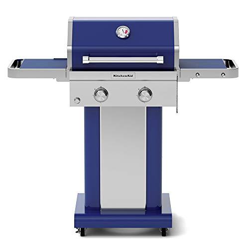 KitchenAid 720-0891G Full-Size Propane Gas Grill, Blue