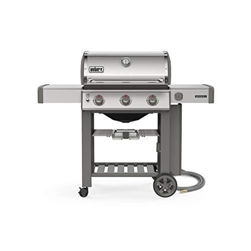 Weber 66001001 Genesis II S-310 NG Gas Grills, Stainless Steel