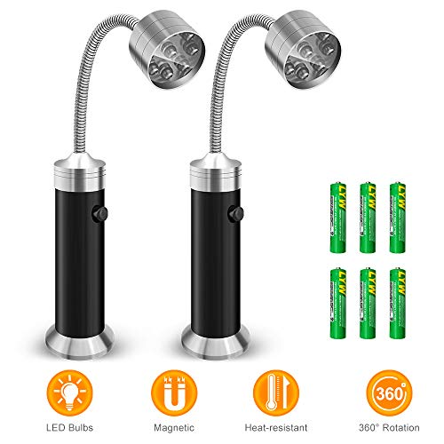 Barbecue Grill Light, Vocado BBQ Grill Light with 9 LED Bulb Ultra-Bright, Powerful Magnetic Bas ...