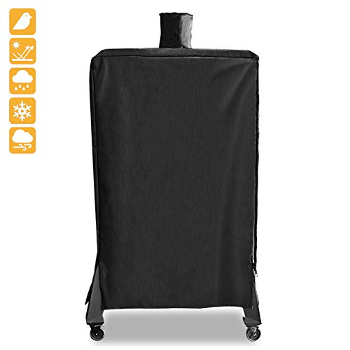 Grisun Pellet Smoker Cover for Pit Boss Grills 5.5 Heavy Duty, Waterproof Grill Cover for 5 Seri ...